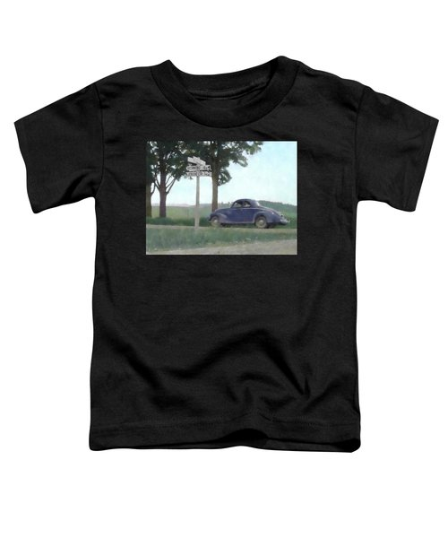 Coupe In The Countryside Toddler T-Shirt