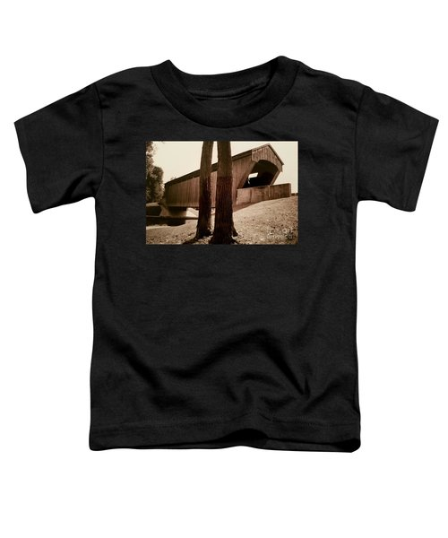 Covered Bridge Southern Indiana Toddler T-Shirt