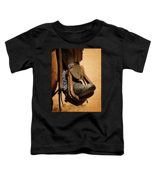 Cowboy Up Toddler T-Shirt