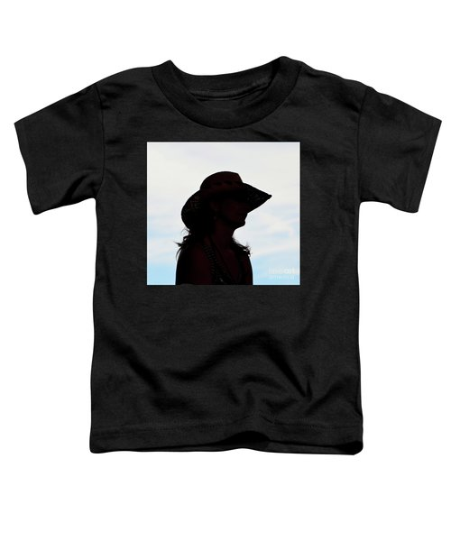 Cowgirl In The Sky Toddler T-Shirt