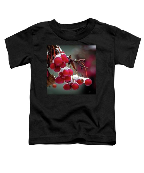 Crab Apples Snow Toddler T-Shirt
