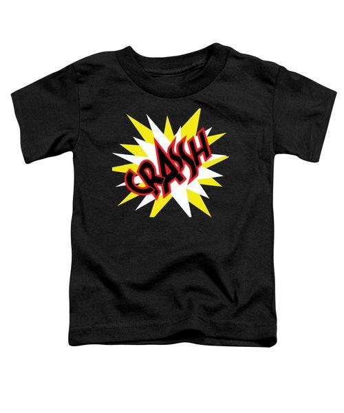 Crash T-shirt And Print By Kaye Menner Toddler T-Shirt by Kaye Menner