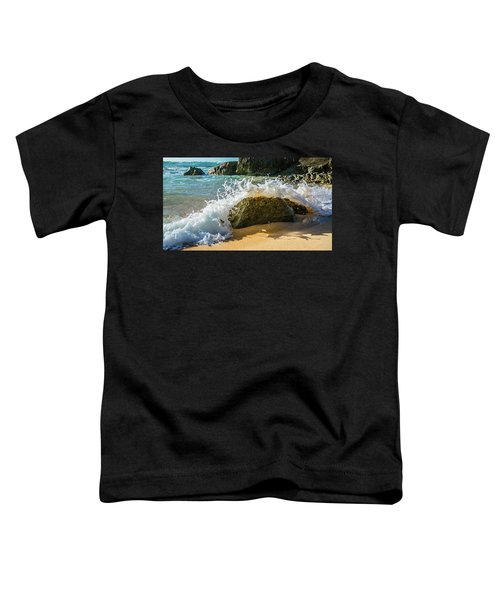 Crashing Over The Rock Toddler T-Shirt