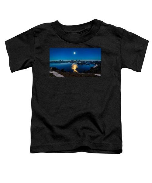 Crater Lake Moonlight Toddler T-Shirt