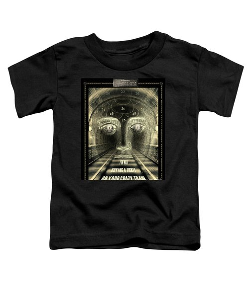 Crazy Train Toddler T-Shirt