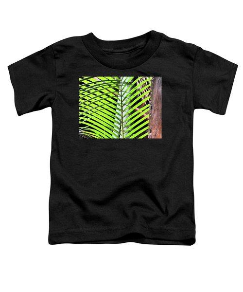 Crisscrossing Palms Toddler T-Shirt