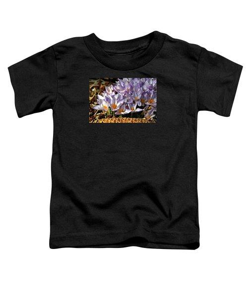 Crocuses Serenade Toddler T-Shirt