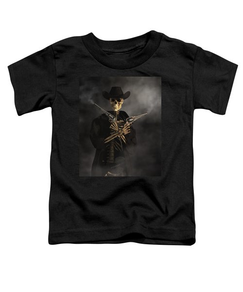 Crossbones Toddler T-Shirt