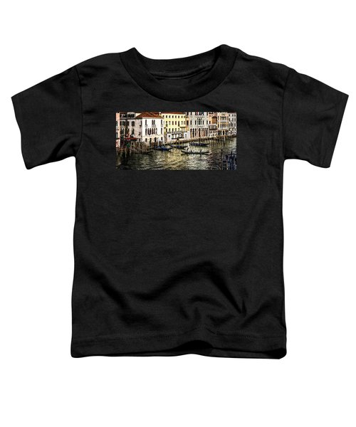 Crossing The Canal Toddler T-Shirt