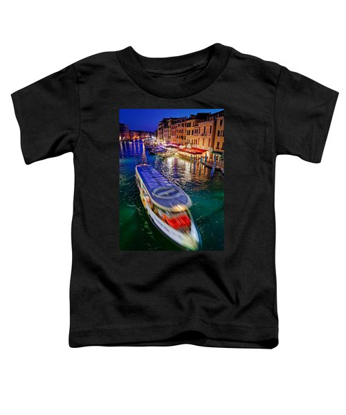 Crossing The Grand Canal Toddler T-Shirt