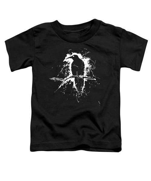 Crow Toddler T-Shirt by H James Hoff