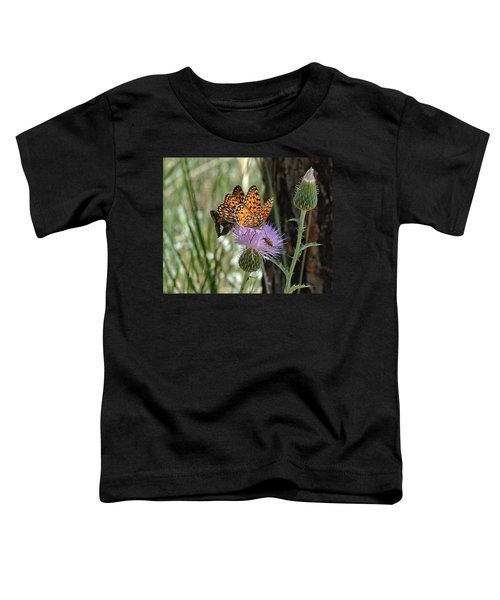 Crowded Thistle Toddler T-Shirt