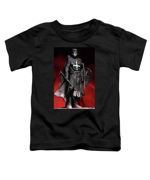 Crusader Warrior - Medieval Warfare Toddler T-Shirt