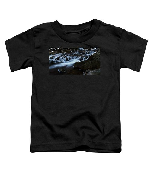 Crystal Flows In Hdr Toddler T-Shirt