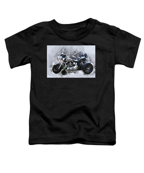 Customized Harley Davidson Toddler T-Shirt