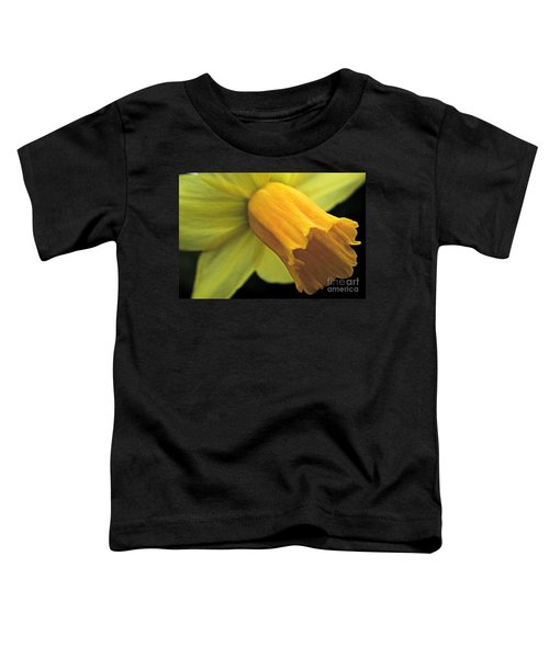 Daffodil - Narcissus - Portrait Toddler T-Shirt