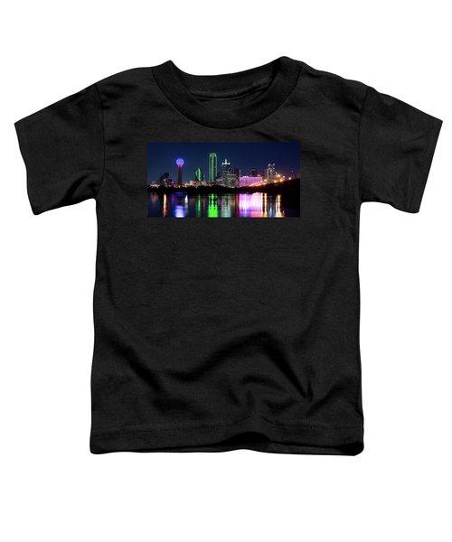 Dallas Colorful Night 52716 Toddler T-Shirt