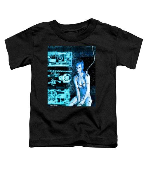 Damaged Cyborg Toddler T-Shirt