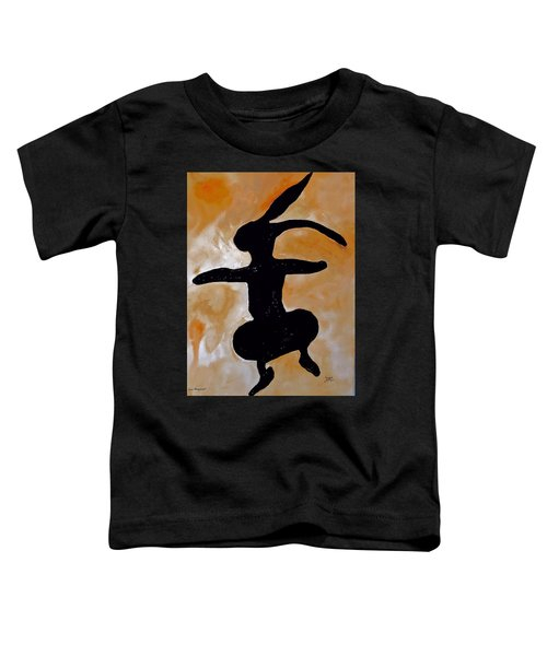 Dancing Bunny Toddler T-Shirt