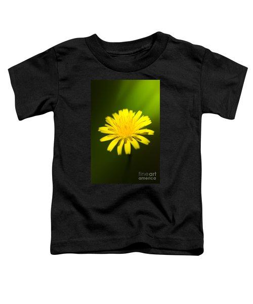 Dandelion Flower Toddler T-Shirt