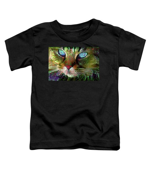 Darby The Long Haired Cat Toddler T-Shirt
