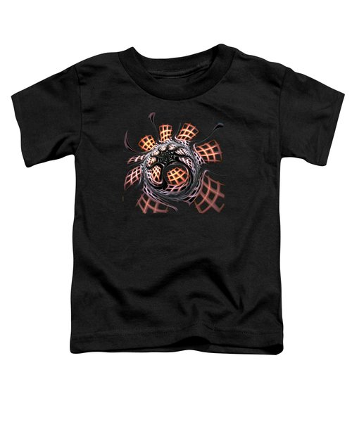 Dark Side Toddler T-Shirt by Anastasiya Malakhova