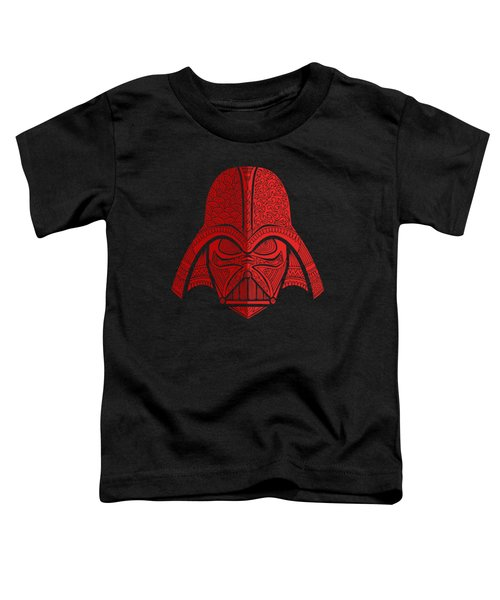 Darth Vader - Star Wars Art - Red 02 Toddler T-Shirt