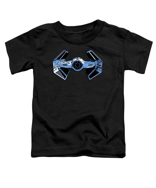 Darth Vaders Tie Figher Advanced X1 Tee Toddler T-Shirt by Edward Fielding