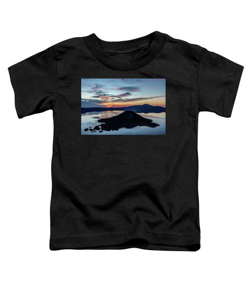 Dawn Inside The Crater Toddler T-Shirt