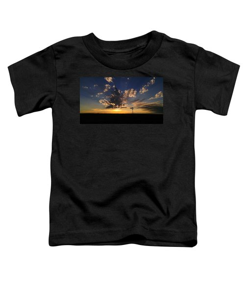 Toddler T-Shirt featuring the photograph Day Is Done by Carl Young
