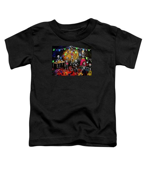 Day Of The Dead Festival Toddler T-Shirt