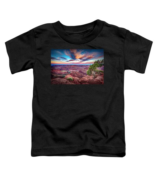 Dead Horse Point At Sunrise Toddler T-Shirt