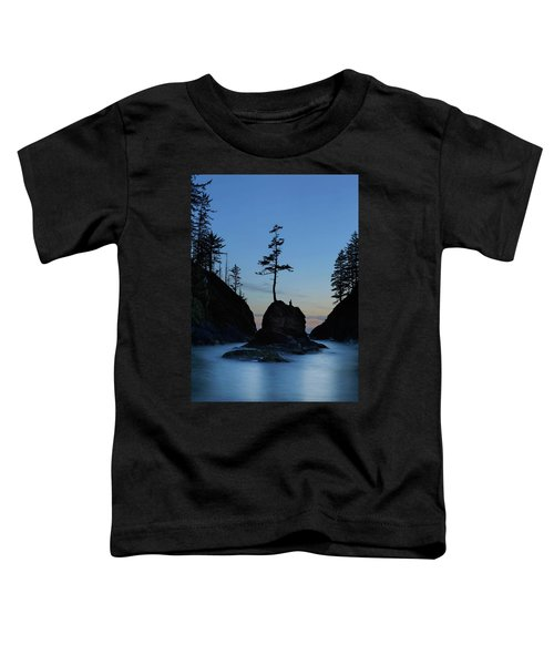 Deadman's Cove At Cape Disappointment At Twilight Toddler T-Shirt