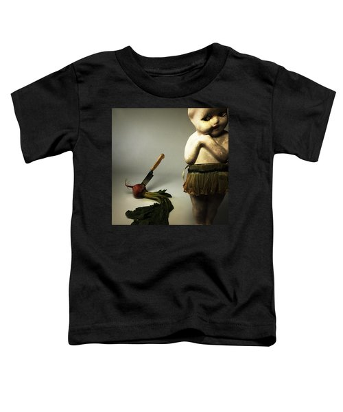 Death Of A Vegetable Toddler T-Shirt