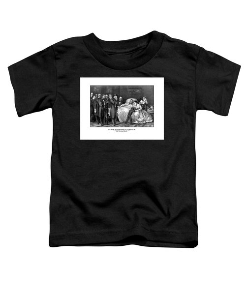 Death Of President Lincoln Toddler T-Shirt
