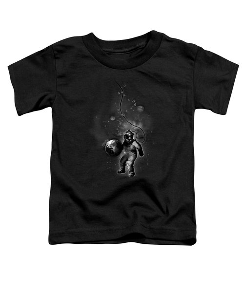 Deep Sea Space Diver Toddler T-Shirt by Nicklas Gustafsson