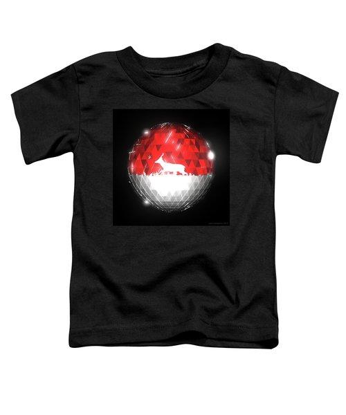 Deer Bauble - Frame 10 Toddler T-Shirt