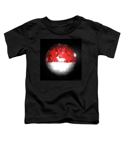 Deer Bauble - Frame 103 Toddler T-Shirt