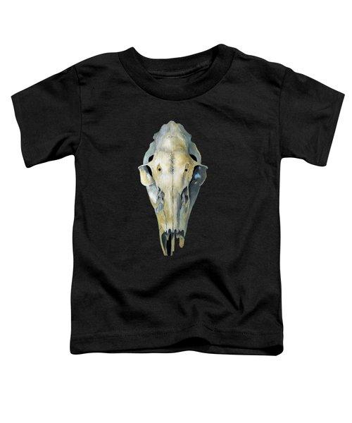 Deer Skull Aura Toddler T-Shirt