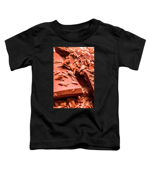 Delicious Bars And Chocolate Chips  Toddler T-Shirt
