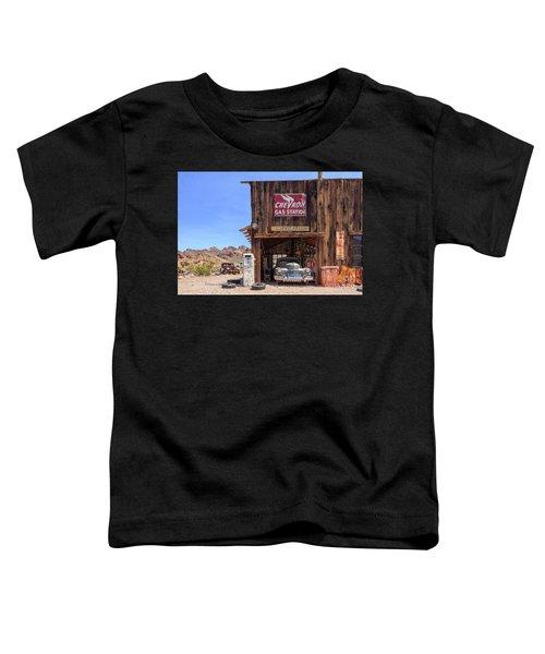 Desert Gas Station Eldorado Canyon Toddler T-Shirt