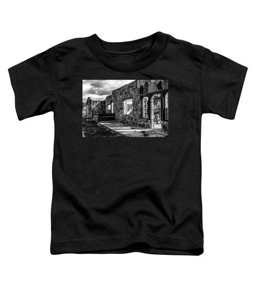 Desert Lodge Bw Toddler T-Shirt