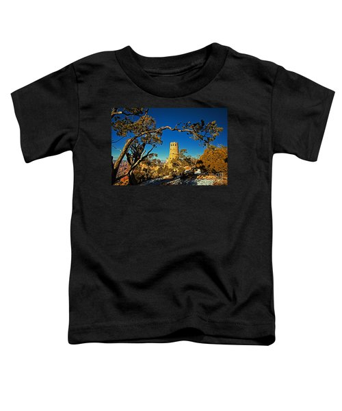 Desert View Watchtower, Grand Canyon National Park, Arizona Toddler T-Shirt