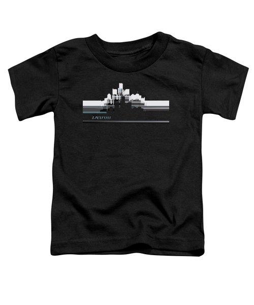 Detroit Lines 1 Toddler T-Shirt