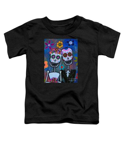 Dia De Los Muertos Matrimonio Toddler T-Shirt