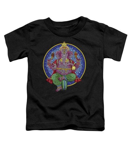 Digital Ganesha Toddler T-Shirt by Tim Gainey
