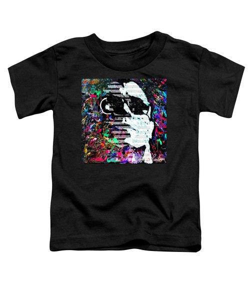 digital Lou Reed Toddler T-Shirt