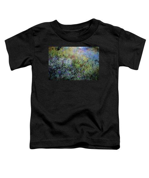 Digital Watercolor Field Of Wildflowers 4064 W_2 Toddler T-Shirt
