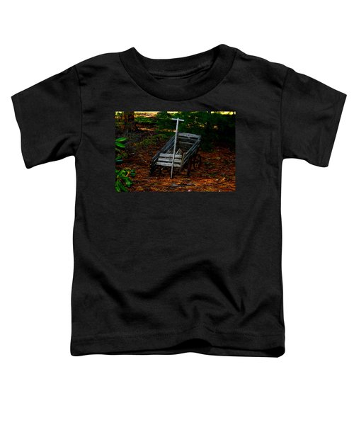 Dilapidated Wagon Toddler T-Shirt