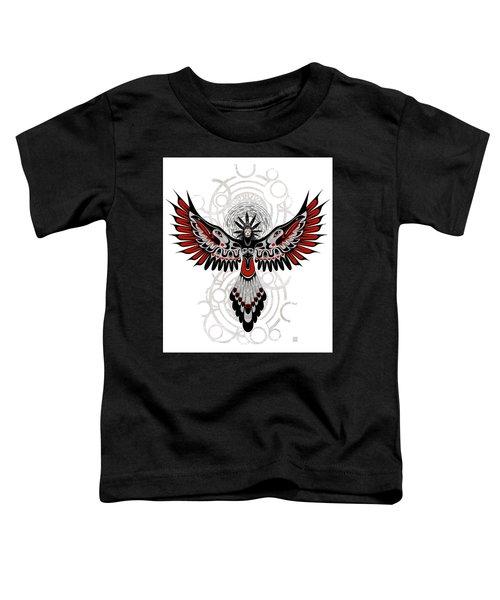 Divine Crow Woman Toddler T-Shirt